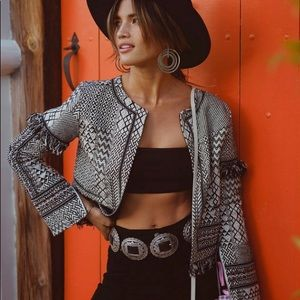 Ale by Alessandra Tribal Jacket